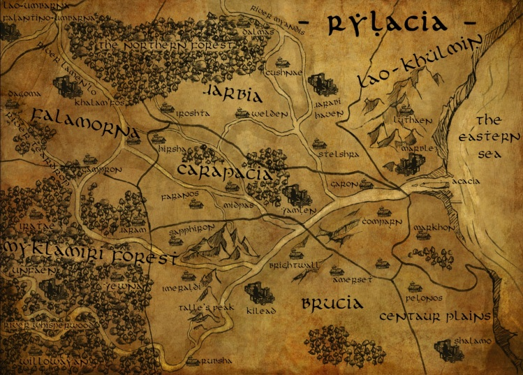 Map of Rylacia